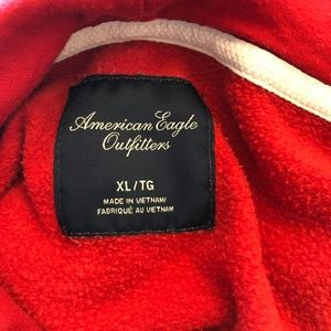 American Eagle Outfitters Tops - American Eagle Outfitters Pullover Hoodie - Red